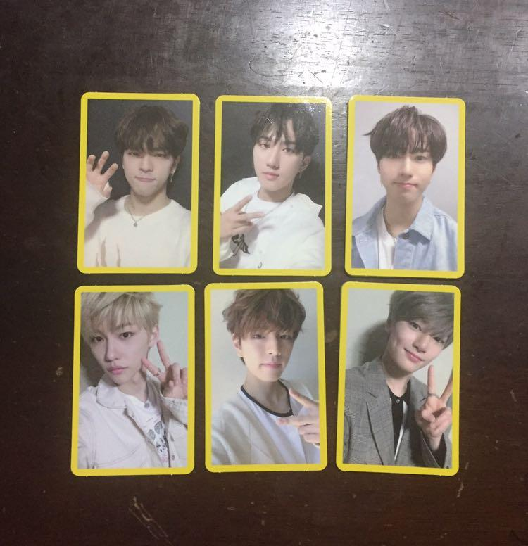 [WTS/WTT] Stray Kids - Clé 2: Yellow Wood Yellow Border Photocards