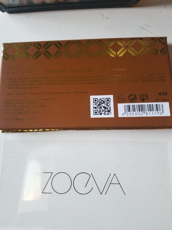 ZOEVA Caramel Melange Highlighting Powder Palette. New. RRP$26