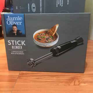 全新*Jamie Oliver 電動調理攪拌棒三件組