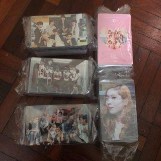 Clearance Non-Official Photocards