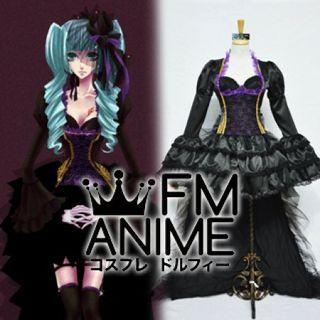Vocaloid Miku Sandplay Gown Cosplay Costume