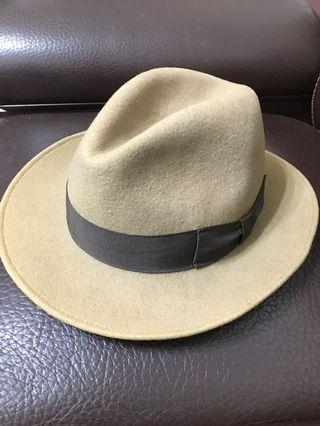 全新進口高檔呢絨紳士帽🎩