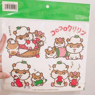 日本帶回 日本限定販售 日本製 貼紙 三麗鷗家族 可貼牆壁 杯子