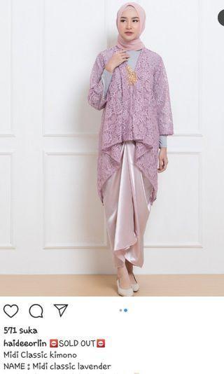Kebaya Haideeorlin Lavender