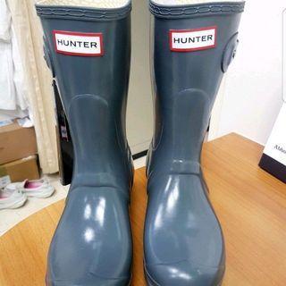 全新 HUNTER 短靴 雨鞋 吊牌未拆