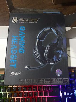 Headset Gaming Sades BPower