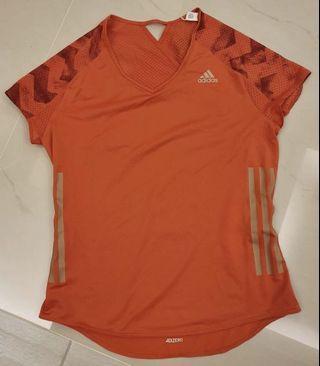 全新Adidas愛迪達透氣短袖上衣