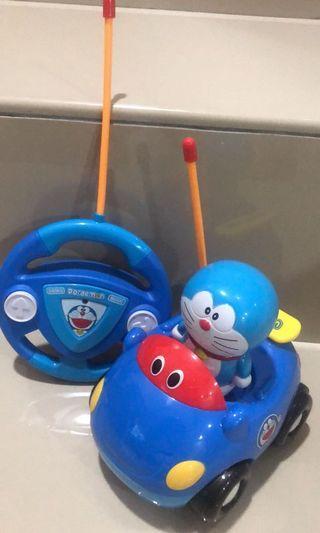 Doraemon mini remote control racing car