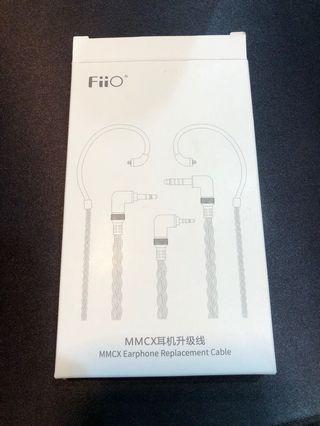 FiiO LC-2.5C 純手工編織高純度單晶銅鍍銀MMCX耳機升級線(2.5mm)