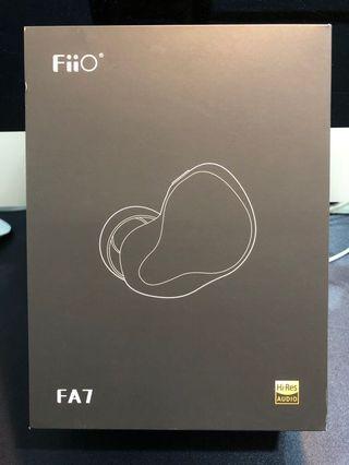 FiiO FA7 樓氏四單元動鐵MMCX單晶銅鍍銀可換線耳機