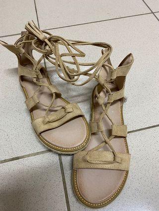 羅馬涼鞋24.5cm