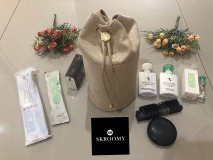 Ready Stock Amenity kit Bvlgari by Emirates Airlines