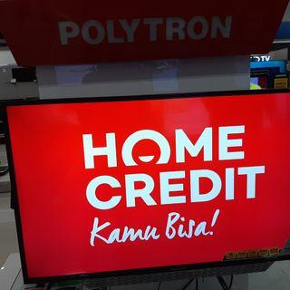 Polytron Smart TV Cicilan Tanpa Kartu Kredit & Gratis 1 Kali Angsuran