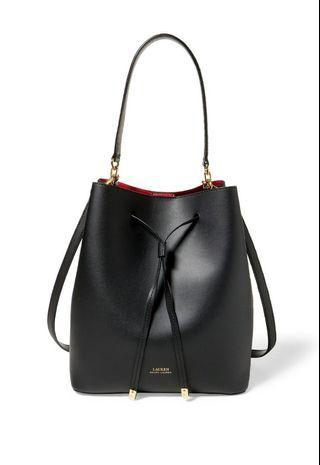 💯Auth Brandnew Ralph Lauren Debby Drawstring Bucket Bag