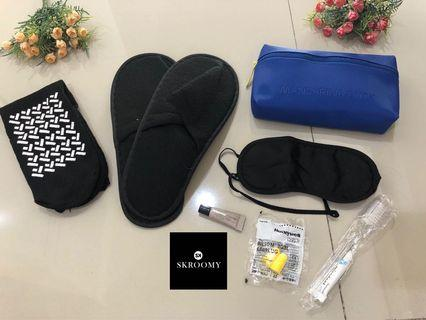 Amenity Kit Mandarina Duck by Turkish Airlines colour Blue