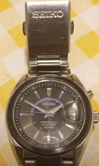 Seiko Perpetual Calender/Chronograph 100m