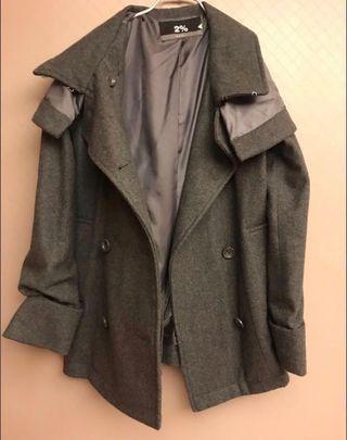 五件大衣外套 毛衣 2% hype帽踢 針織洋裝
