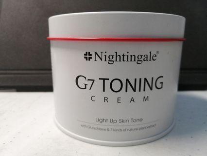 Nightingale G7 toning cream