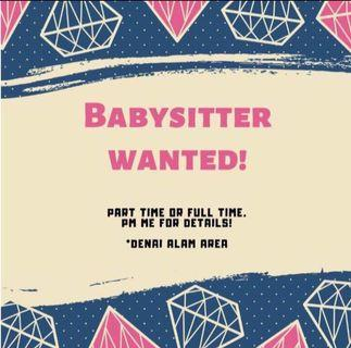 Babysitter Wanted!