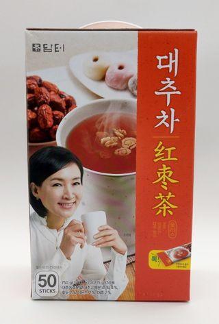 現貨  韓國 DAMTUH 丹特 紅棗茶 50入