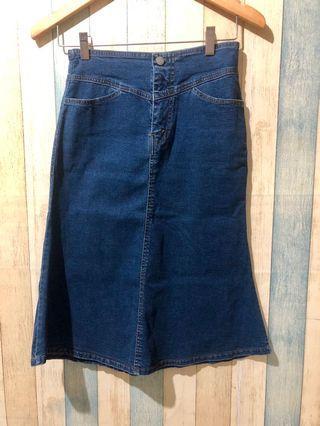 Jeans Mermaid Skirt Import Bangkok