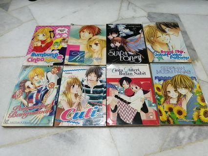 [READY STOCK] GEMPAK STARZ MANGAS (MALAY VER) 1 MANGA FOR RM5 - PRICE NOT INCLUDE POSTAGE YET.