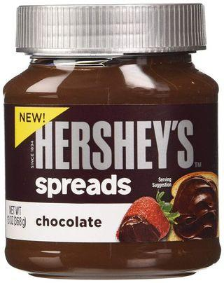 HERSHEYS CHOCOLATE SPREADS COCOA BOTTLE 350g