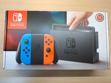 Switch 舊版主機 [二手]保固內