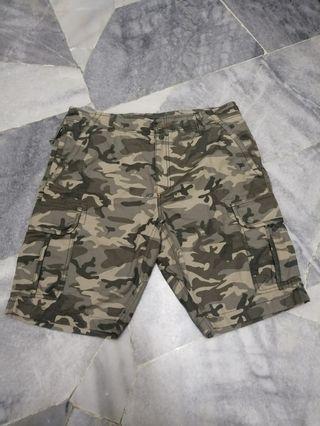 L.L.Bean Camo Shorts