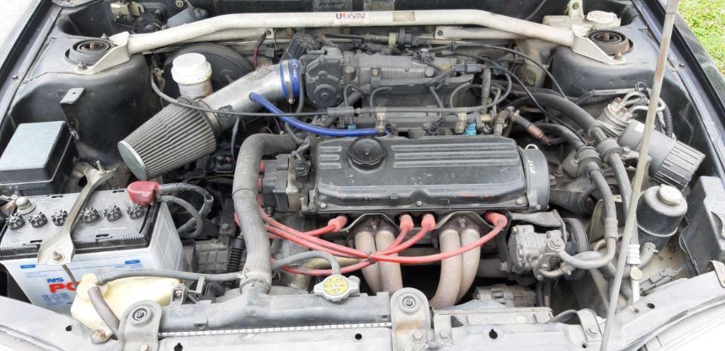 2003 Proton WIRA 1.5 A/B GLi (M) - Engine smooth and still running