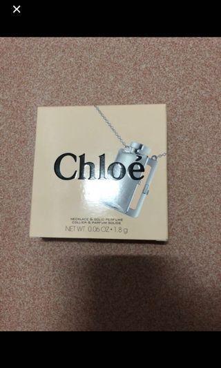 Chloe項鍊式體香膏香水 全新 出清特價1200元
