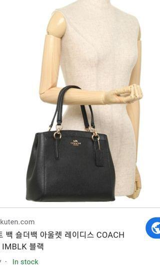 💯Auth Coach Minetta Satchel Crossbody Bag