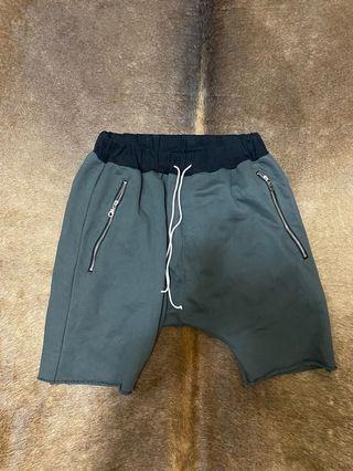 破壞抽繩短褲