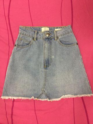 Cotton On Denim Skirt