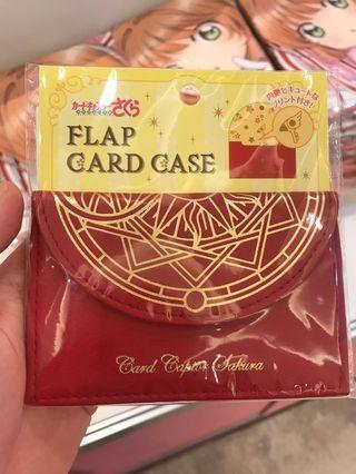 庫洛魔法使 透明牌篇快閃店 限量日版精品 票卡夾 紅色