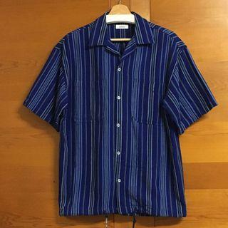 Wakami open collar shirts 手工編織開領襯衫 (M)