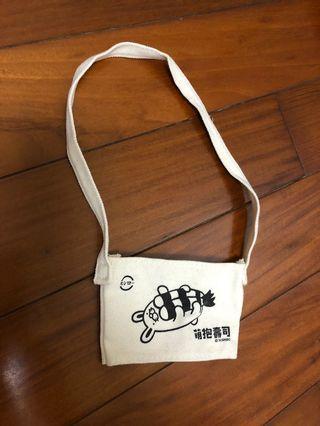 [全新]壽司郎萌抱壽司飲料提袋(鮮蝦兔子款)