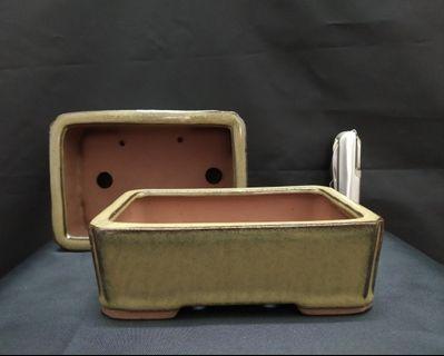 Ceramic Bonsai Pot Glazed (MG9)