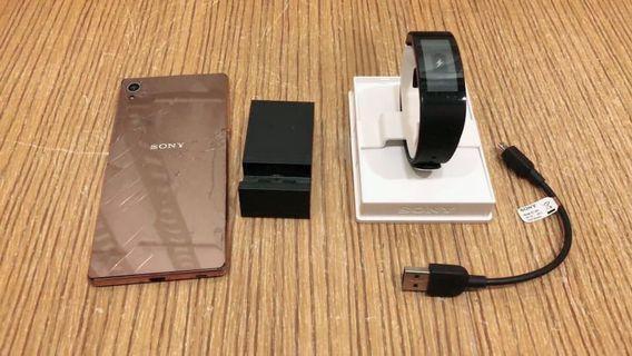 Sony Xperia Z3+ Dual and Smartband Talk SWR30