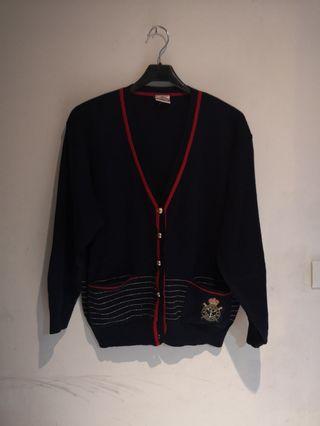 古著刺繡針織外套