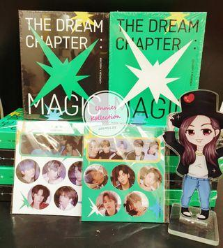 💥💥READY STOCK 💥💥  TXT(TOMORROW X TOGETHER) -  [The Dream Chapter : MAGIC]