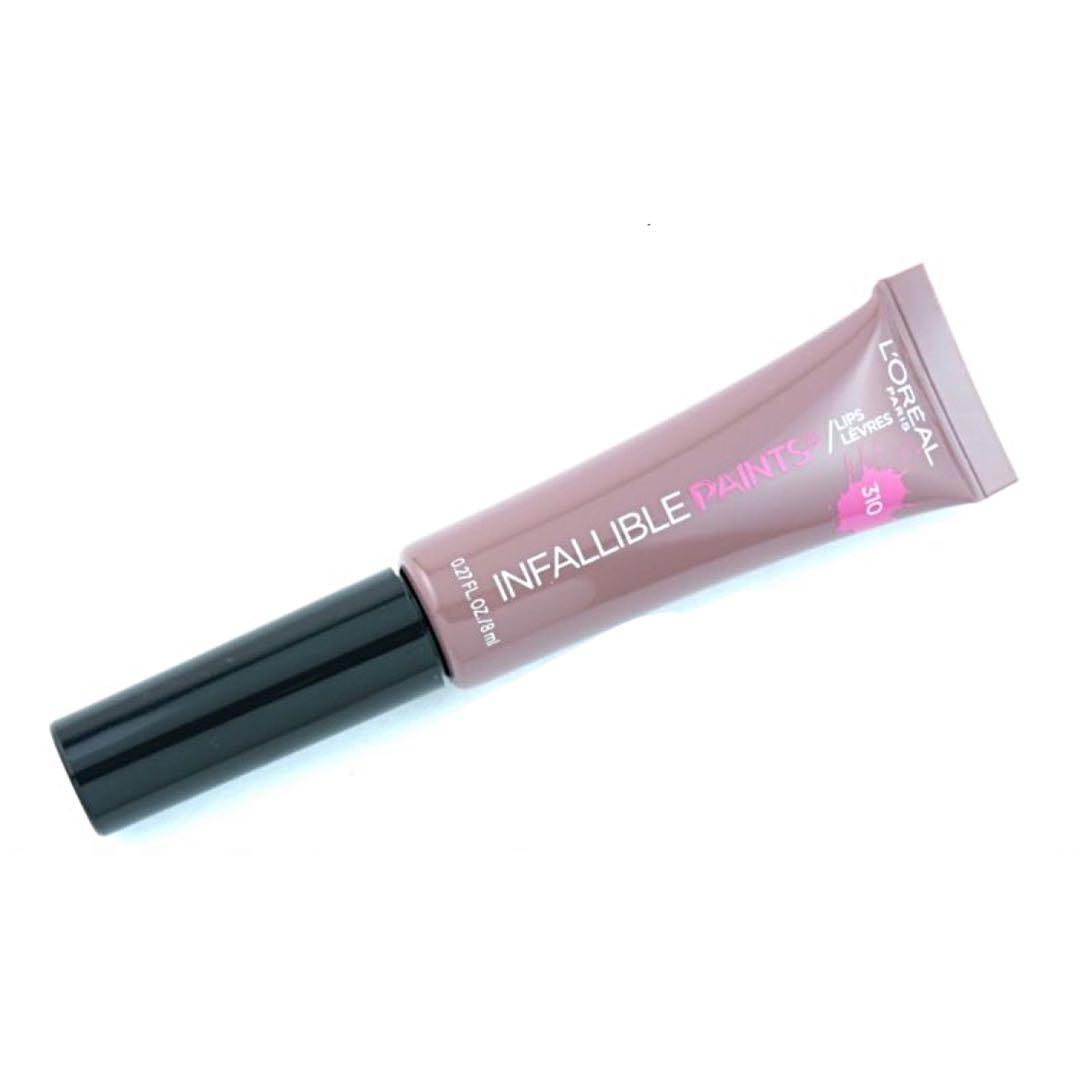 3 brand new L'Oreal Paris Infallible paint lipsticks