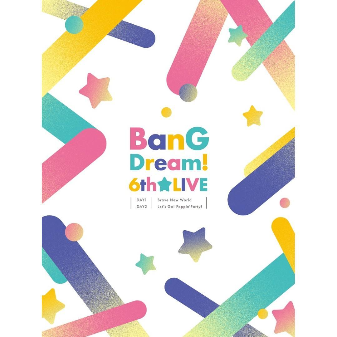 預訂 BanG Dream! 6th☆LIVE Blu-ray 初回仕様 日本版 連特典 RAISE A SUILEN,ハロー、ハッピーワールド!,Roselia,Poppin'Party