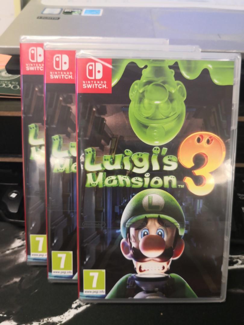 全新 Switch NS luigi mansion 3 路易吉洋樓3 歐美版