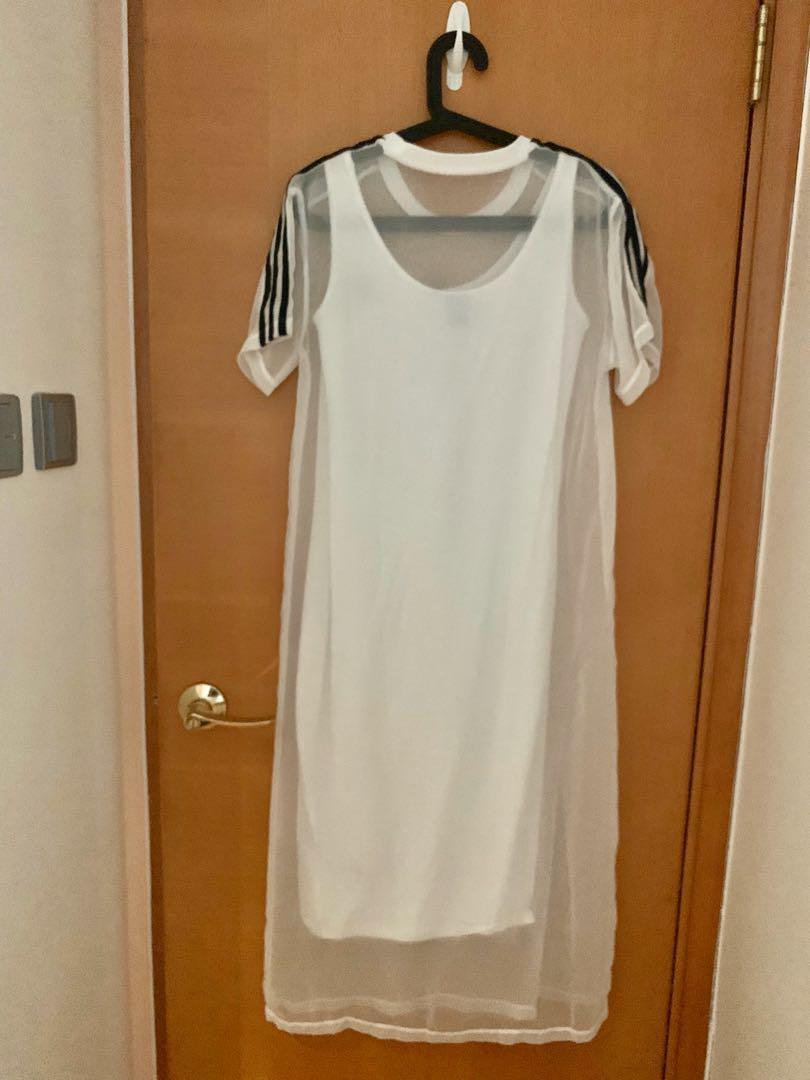 Adidas 長身裙