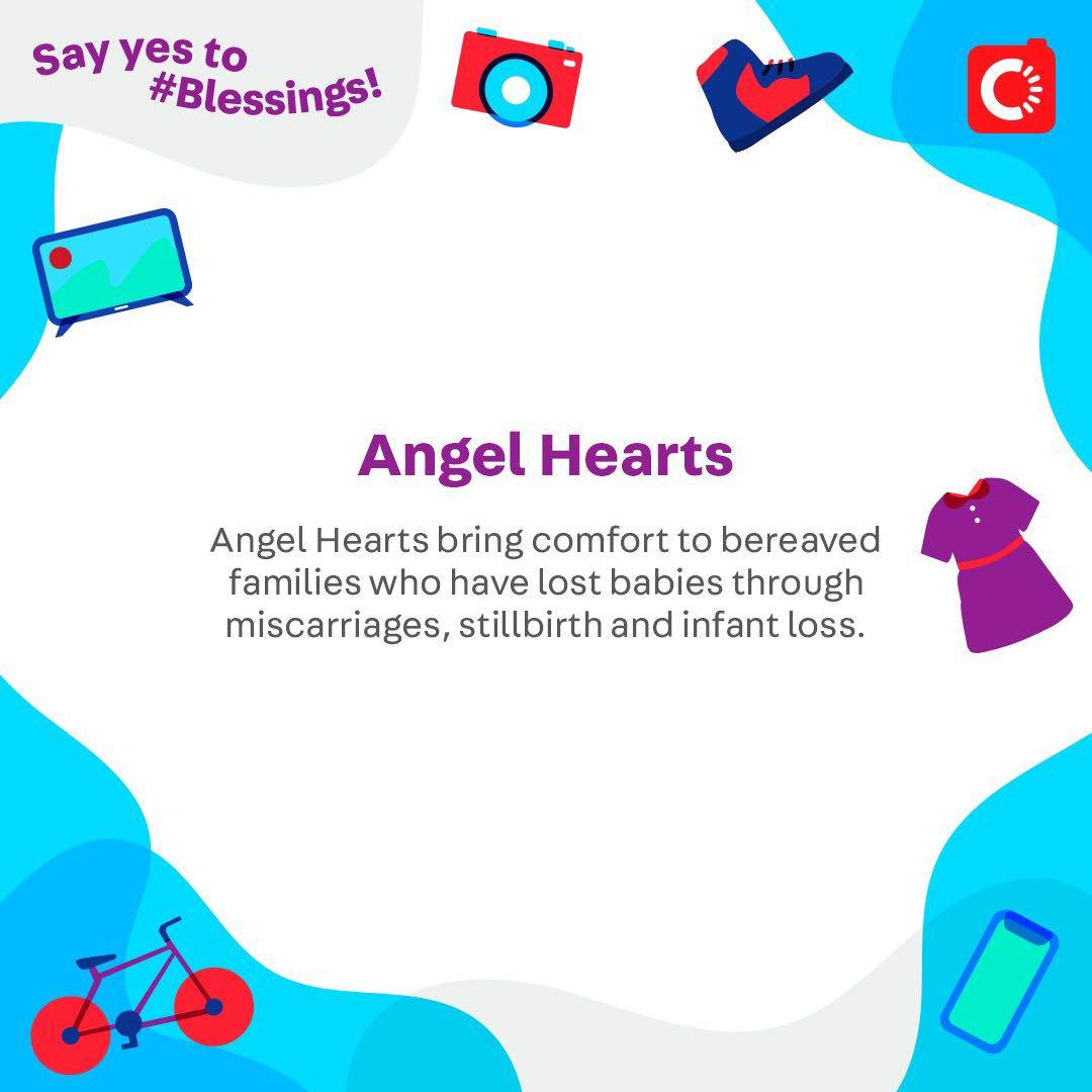 Angel Hearts is looking for...