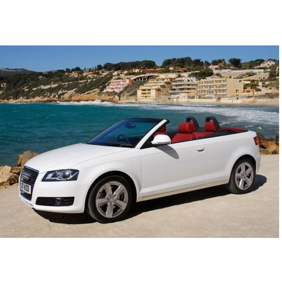 Convertible Wedding Car , Audi 4 seater convertible ,   4 hours for $200 promo  !