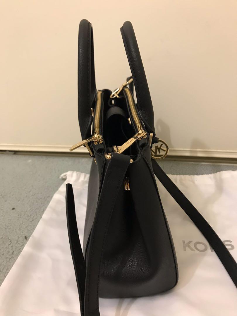 Authentic black Michael Kors handbag