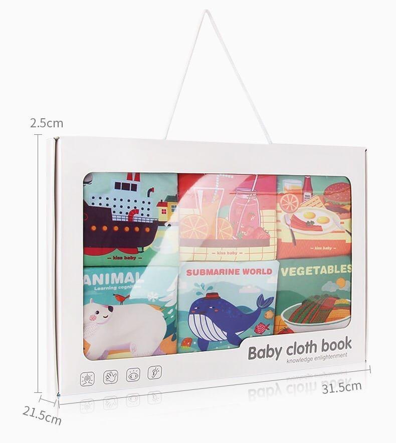 baby cloth book💫熱賣早教益智布書💥