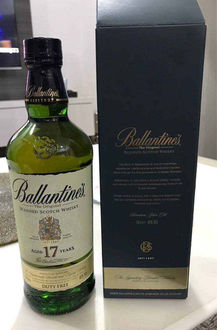 Ballantine's Blended Scotch Whisky